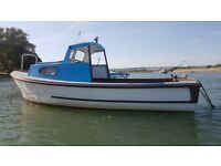 Seafarer 21 sea fishing boat not colvic seaworker swap partx