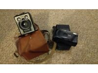 Various Cameras and flash guns for sale