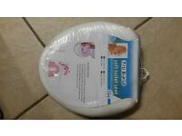 brand new first steps cushioned toilet training seat