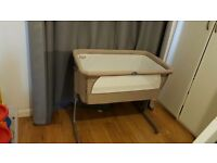 Chicco close to me cot in grey