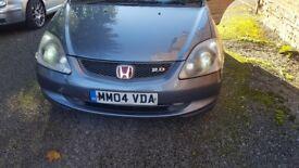 Honda civic type s 2 liter lmt addition