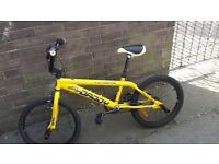 BMX Yellow Very condition