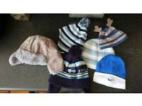 Baby boys hat selection