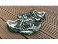 Shimano carbon fibre spd sl cycling shoe's