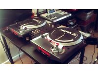 Mint Pair of Rare Vestax PDX-A2s Turntables/Decks