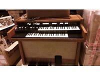 *Hammond organ L102* Tonewheel drawbar organ 1968