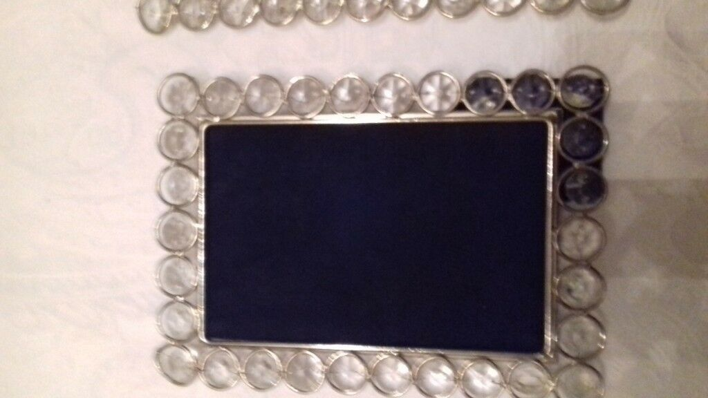 Marks and Spencers glass beaded picture frames x 3 | in East End ...
