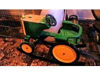 Rocking horse tractor