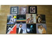 11 x eric clapton vinyl collection LP's / 12 inch