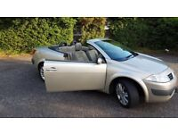Champagne renault megane convertable for swap