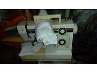 Sewing Machine (New Home) company name.
