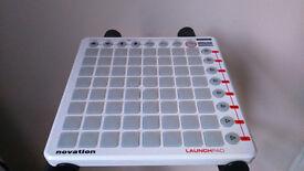 Ltd. Edition White Novation Launchpad MIDI Controller