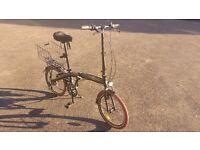 """Ecosmo 20"""" Lightweight Folding City Bike Bicycle,12kg HARDLY USED"""