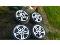 Subaru Impreza WRX STi alloy wheels alloys 5x100 JDM