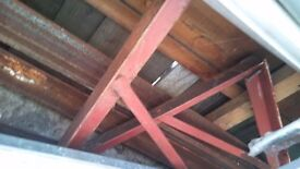 Chimney Support gallow brackets and Angle support Ph: 07922603555