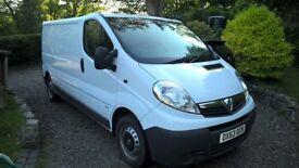 Vauxhall Vivaro 2 ltr Van