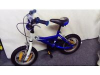 "12"" Giant Blue Childs Bike (inc stabilisers)"