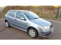 Diesel 2004 Skoda Fabia Ambiente 1.4 TDI PD 75 5 Door 1 Year MOT Immaculate Condition