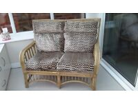 2 chairs 1 x 2seater