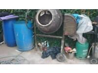 Concrete mixer heavy-duty