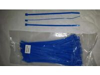 BLUE cable ties 200mm x 4.8mm