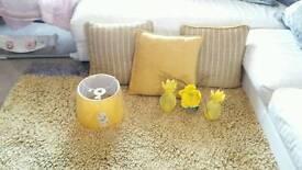 Yellow Living Room Bundle