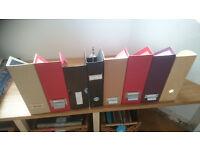 8 MAGAZINE FILE BOXES