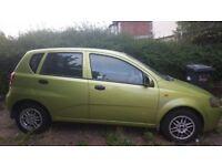 Daewoo KALOS (53 reg) car for sale £290 only
