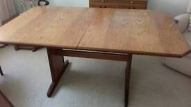 G Plan solid wood table