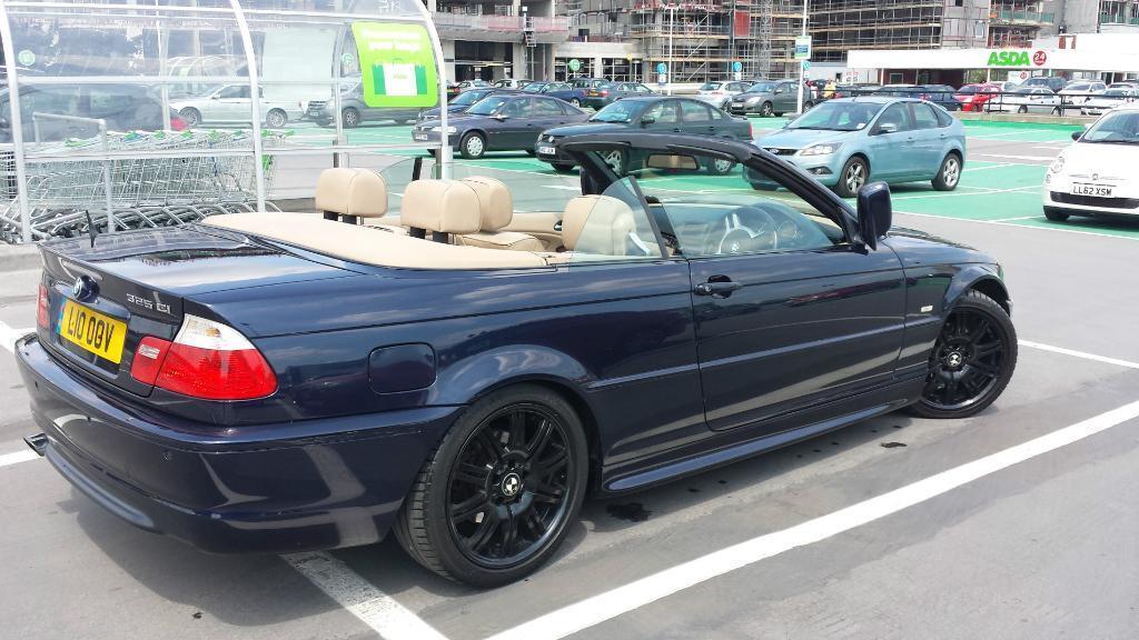 bmw 325i auto, convertible, m sport.