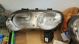 Rover 75 headlights mk1 pair lights