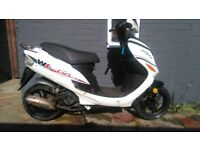 WK Go 50 Moped 12 Months MOT £350 No Offers