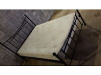 Double bed and mattress for sale Edinburgh.