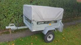 Daxara 107 Trailer with high extension kit