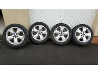 Ford Kuga Dunlop Winter tyres and wheels 235/50/18, Might Fit C-Max & S-max etc