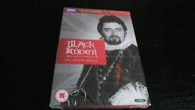 BLACKADDER.THE COMPLETE SERIES DVD BOX SET NEW SEALED.