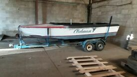 16 Ft Boat and Trailer project