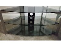 Techlink Skala Glass TV stand £15