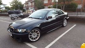 AUTOMATIC,BLACK BMW 325 CI M SPORT