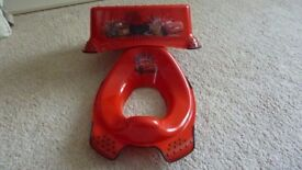 Disney Cars Toilet Seat and Step