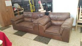 good quality soft italian leather suite