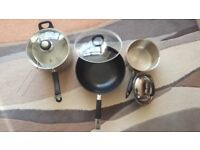 New and seldom used cookware