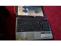 Acer Aspire LAPTOP I5 5745. No screen. Faulty hard drive. Everything else fully functional