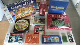 Selection of Card and Board Games. Mostly used but in very good condition all with instructions