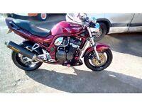 1200cc Suzuki Bandit Motorbike