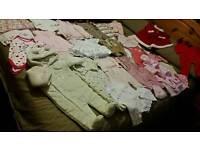 Baby girls clothing bundle age 3-6 months