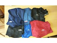 6 Pairs of umbro shorts