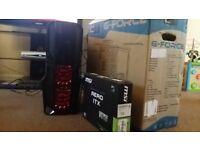 Killer i7 Quad Core Gaming PC, Super FAST 180GB SSD, 500GB HD, Brand New GeForce GTX 1050, 400w PSU!