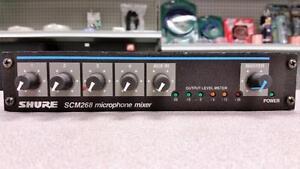 Shure SCM-268 Mic Mixer