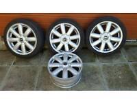 Mini Rim17 alloy wheels x4